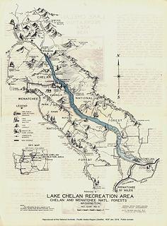 Lake Chelan Recreation Area Guide No. 21