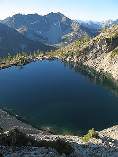 Stiletto lake & Hock Mtn