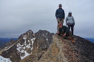 Summiting Big Snagtooth