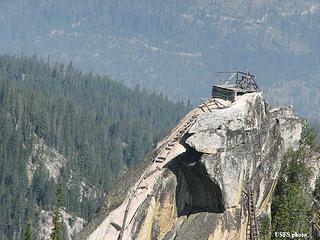 Old lookout platform around Lake Cascade Idaho.