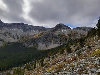 Looking over towards Pass Butte