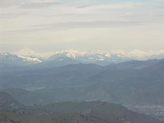 Glacier Peak, Ten Peak, Clark, Chiwawa etc...