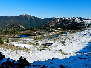 views from Bogachiel Peak