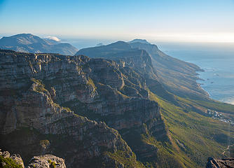 views from Table Mountain Cape Town South Africa