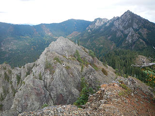 West Peak seen from French Chin summit