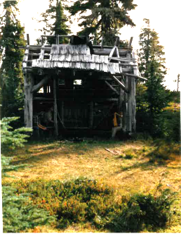 Three Lakes shelter 1985