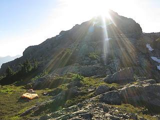 Camp on Tailgunner Ridge