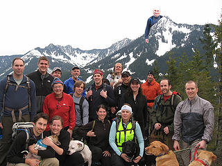 Maybe Nordic was off summiting McClellan Butte