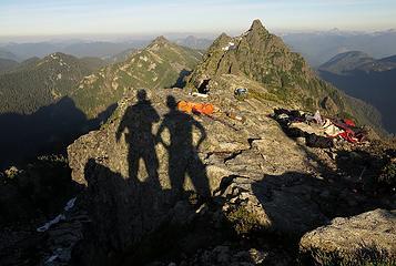 Tailgunner summit, 7:21pm