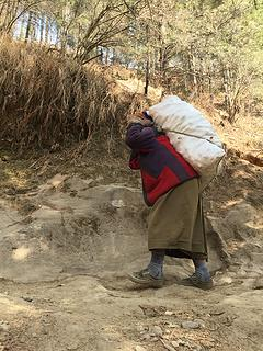 Heavy loads in Nepal