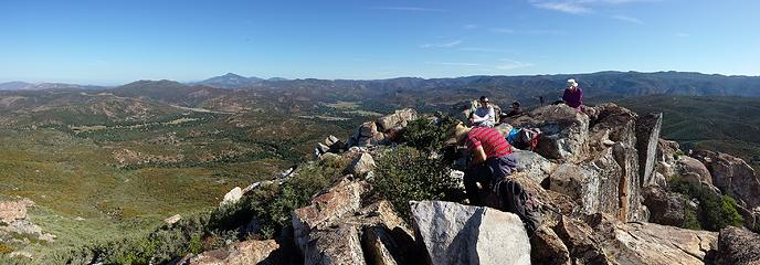 Summit pano