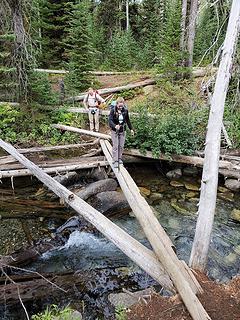 Morning creek crossing