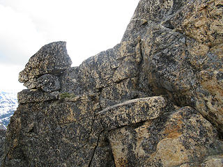 some of the climbing below the off-width