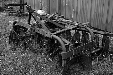 Farm equipment on Jenjen's farm