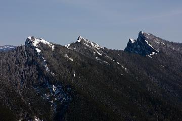 High Rock Lookout & Sawtooths