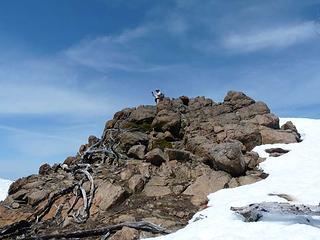 Matt doing King of the Mountain
