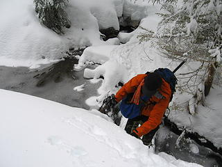 Another tricky creek crossing
