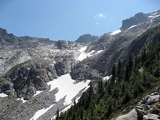 Under the Overcoat Glacier