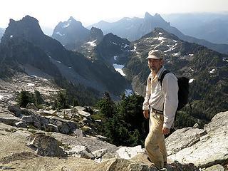 Me near Gunnshy summit