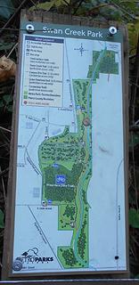 Swan Creek Park 102719 10 map