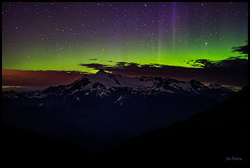 Aurora Over Mt. Shuksan