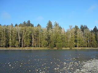 Queets River at Hartzell Creek 100220 ± 1800 cfs