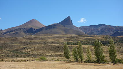 Cerro Colorado from a distance