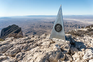 Guadalupe peak 1.24.21