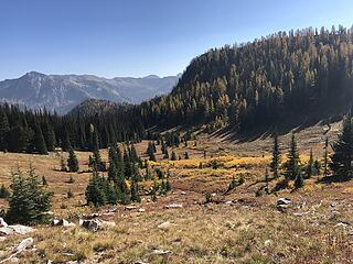 Along the trail to Indianhead Pass
