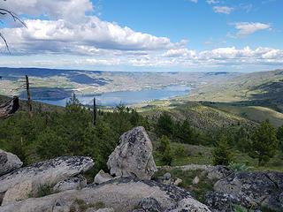 Lake Chelan from Bear Mountain