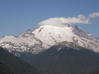 Rainier from Crystal Peak trail.