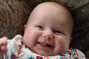 No shortage of smiles