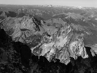 Summit views toward Ingalls