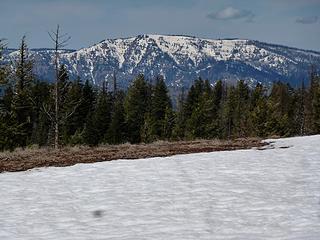 Plenty of snow still on Oregon Butte.