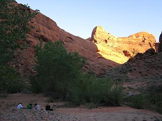 Camp 4 at Fools Canyon