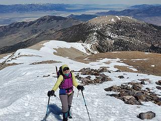 Selena at the ridge