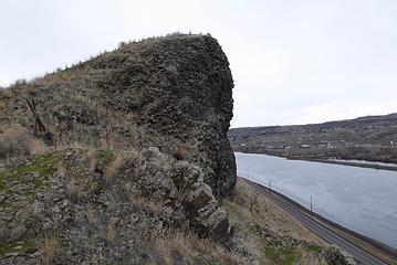 Swallow's Nest Rock.