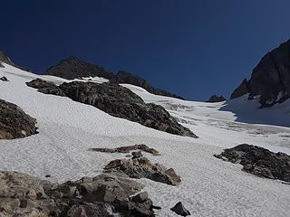 start point of glacier slog