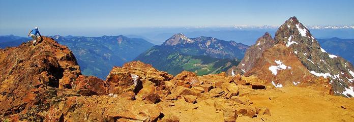 Gimpilator on the west summit.
