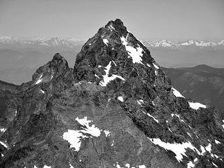 Canadian Border and American Border Peaks