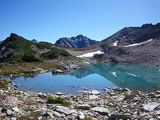 West Peak above Iceberg Lakes