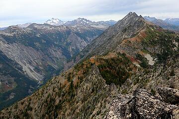 Chiwawa Ridge running up toward Bandit Mtn