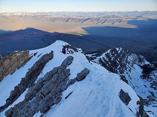 ridge traversing
