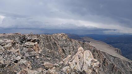 View down Horse Ridge