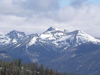 Emerald Peak, Point 7901, Cardinal Peak, and Point 8339'