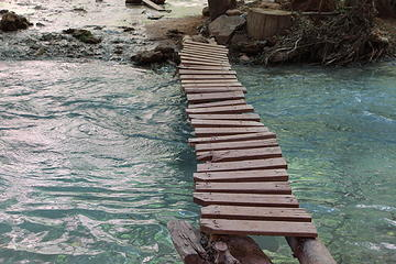 Bridges in camp