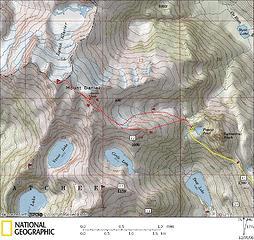 Daniel Trip Map