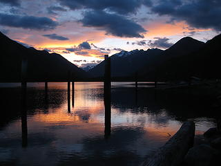 stehekin sunset