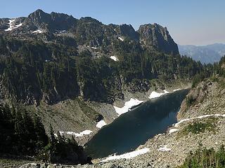 Descending to Gunn Lake