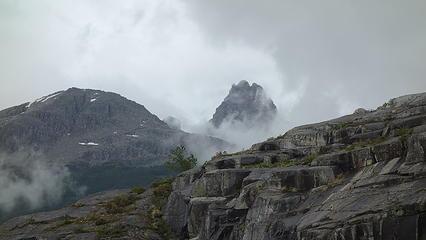 First views of Cerro Agudo
